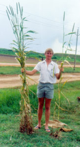 Dr Peter Carberry during his stint as a Research Scholar at ICRISAT.