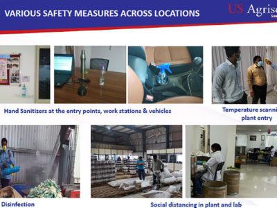 A slide from a presentation made by Mr Satish Ganiger.