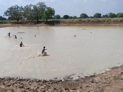 The Devara Tank in Banda district of Uttar Pradesh. Photo: ICRISAT