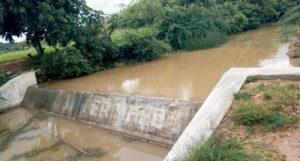 Check dam at Anantapur. Photo: ICRISAT