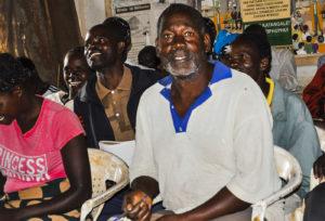 Samson Kwenda attending a training session. Photo: ICRISAT-Malawi