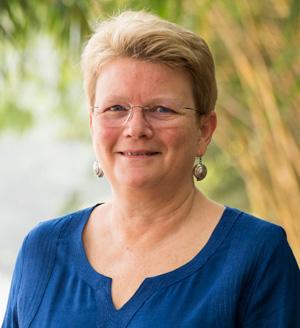 Dr Jacqueline Hughes. Photo: S Punna, ICRISAT