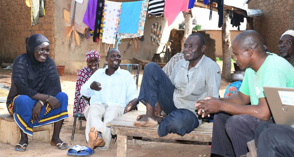 Farmers in Sikasso, Mali. Photos: A Diama, ICRISAT