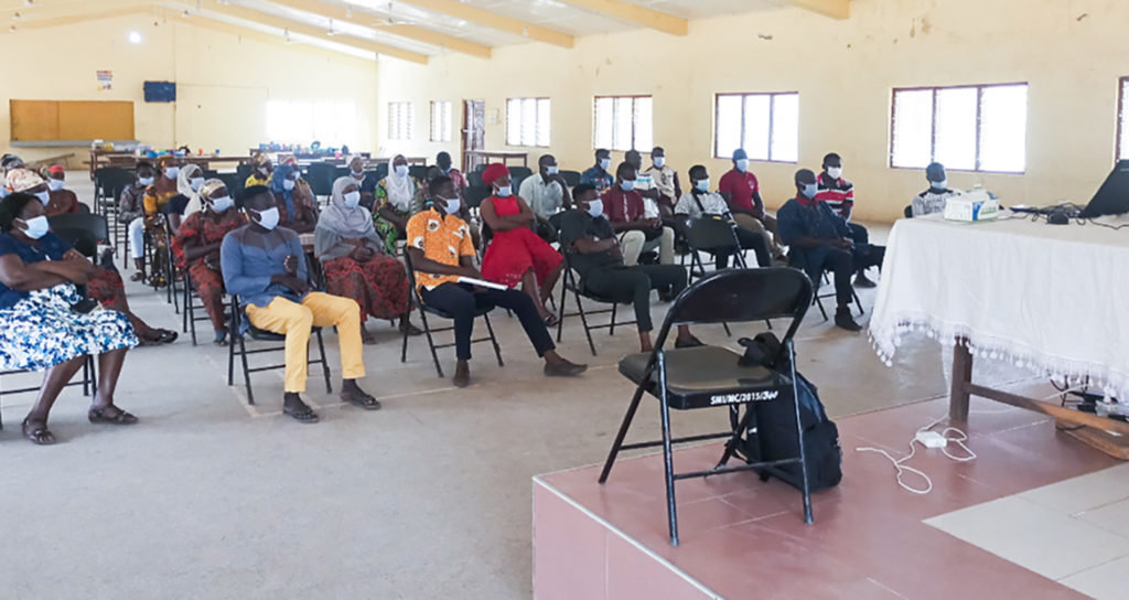 A cross-section of the participants of the training session. Photo: D Adogoba, CSIR-SARI