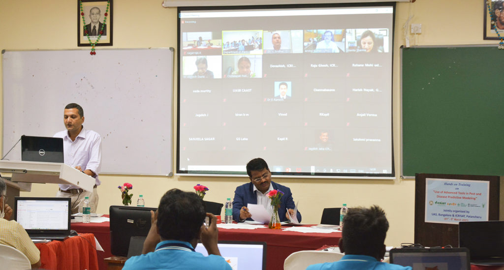 A glimpse of the workshop at University of Agricultural Sciences, Bangalore. Photo: B Ramanagouda, ICRISAT