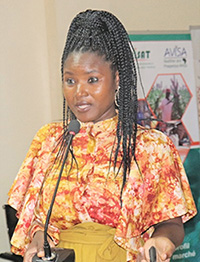 Ms Agathe Diama, Head Regional Information, ICRISAT-WCA. Photo: N Diakite, ICRISAT