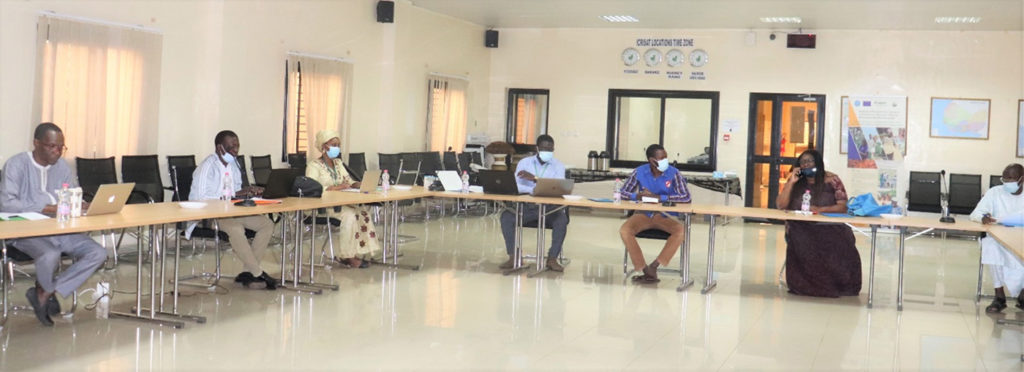 Participants at the science communication training at ICRISAT, Mali. Photo: N Diakite, ICRISAT